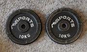 Hantelscheiben- MS Sports - 2x10kg