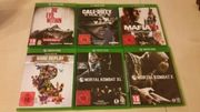 Xbox One Spiele Games