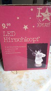 LED Hirschkopf