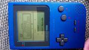 Nintendo pocket in blau mit