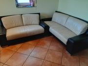Sofa Couch echtes Leder