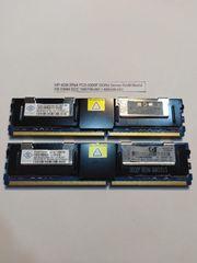 2x 4GB HP DDR2 Arbeitsspeicher