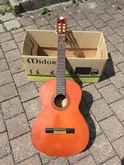 Gitarre Konzertgitarre Luxor restautierungsbedürftig