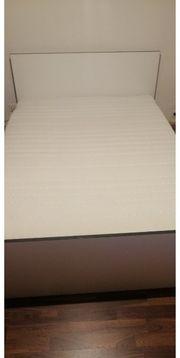 Bett inkl Matratze zu verkaufen