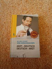 Geschenk Arzt-Deutsch Deutsch-Arzt Hirschhausen