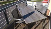 Gartentisch Sparta und 4 Stühle