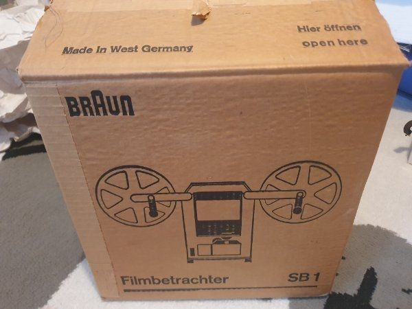 Filmbetrachter Braun Sb1