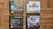 4x PS1 Spiele Final Fantasy