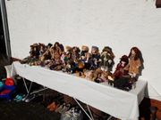 tausche verschiedene Porzellan Puppen