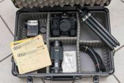 Nikon EM Zubehör im Koffer
