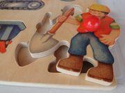3 Steckpuzzles aus Holz