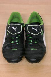 Fußballschuhe Puma Esito schwarz grün -