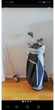 golf set mit Tasche Bällen