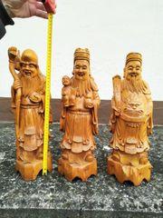 Statuette aus echt Holz