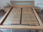 Schönes Bett in buche 180x200