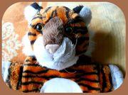 süße kuschelige Tiger Wärmflasche für