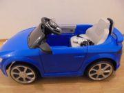 Kinderfahrzeug Audi TT RS blau
