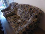 Sofaset abzugeben Sessel 2-er Sofa