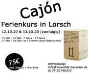 Cajón - Trommelworkshop in Lorsch Ferienkurs
