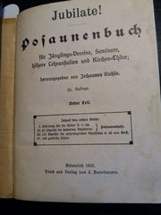 Kuhlo Posaunenbuch erster Teil