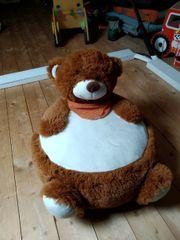 Kindersitzsack Bär