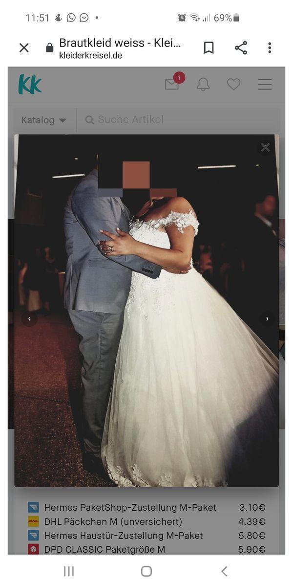 Brautkleid weiß NP lag bei