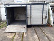 Verkaufs-Container sehr stabil Stahl Alu