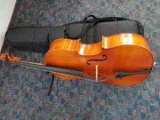 schönes dreiviertel Gewa cello