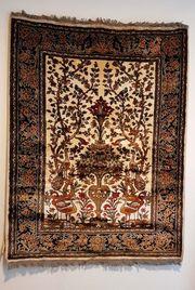 Teppich Wandteppich Keschan Isfahan Perserteppich