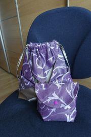 Taschen-Set Handtasche Beuteltasche mit Kosmetiktasche