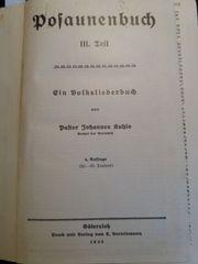 Kuhlo Posaunenbuch 3 Teil