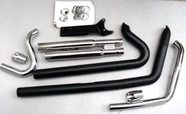 Motorrad-, Roller-Teile - Harley Auspuff Cobra Speedster Dyna