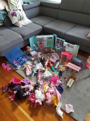 Barbie Sammlung meine Tochter ist
