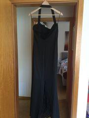 Abendkleider schwarz lang und lachs