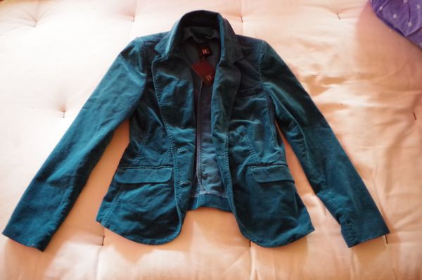 Damen Jacket Jacke Türkis Gr