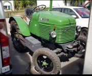 Traktor Oldtimer Rarität Klassiker Steyr