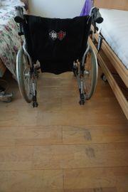 Rollstuhl B B Bischhoff Handbremse
