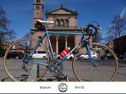 Bianchi Rennrad in wunderschönem blau