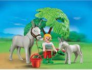 Playmobil Reiterhof - Esel mit Fohlen