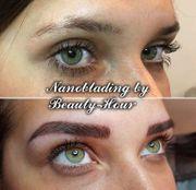 Weihnachtsangebot Augenbrauen-Härchenzeichnung - Microblading vom PROFI