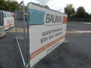 Bauzaunelement Baustellen Absperrzaun neu kaufen
