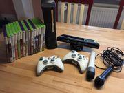 XBox 360 mit Kinect Spielen
