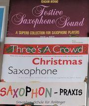 Noten für Gitarre Saxophon Flöte