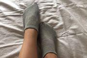 Getragene Damen Socken