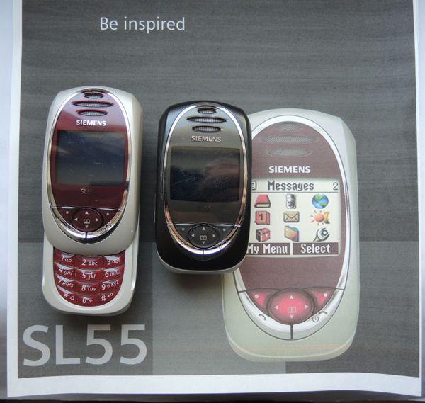 SIEMENS Handy SL55 - Made in