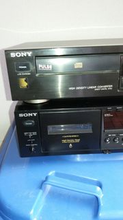 Sony Doppelcassetten deck u CD