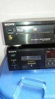 Sony Doppelcassetten deck u CD