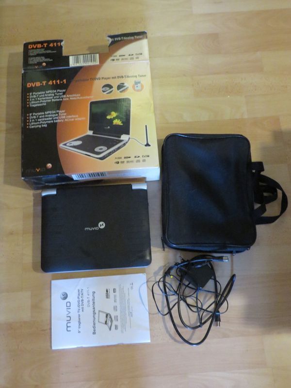 Muvid DVB-T 411-1 Tragbarer DVD-Player