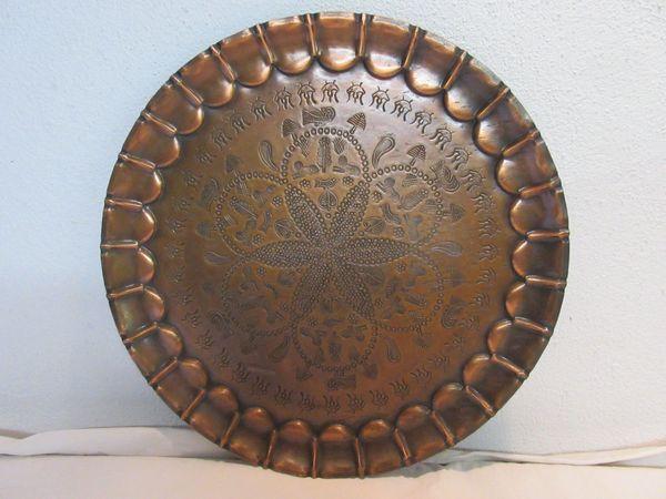 Wandteller Kupferteller