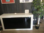 Highboard Wohnzimmer TV Board weiß